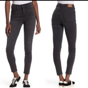 """Madewell 9"""" high rise skinny skinny jean"""